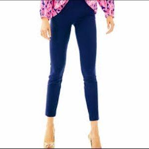 Lilly Pulitzer Jet Set Leg Trouser - Size 10